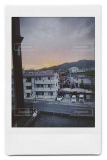 ホテルからの風景 チェキ風の写真・画像素材[3325653]