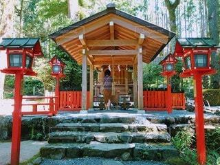 京都、貴船神社。京都市北部にある自然豊かな神社でした☺️の写真・画像素材[3327541]