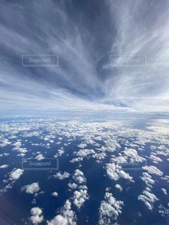空の雲の群の写真・画像素材[3327510]