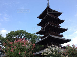 五重塔の写真・画像素材[139747]