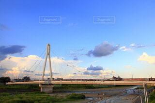 河川に架かる橋の写真・画像素材[3650319]