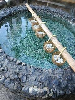 温泉たまごの写真・画像素材[3333390]