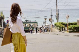 鎌倉高校前の写真・画像素材[542606]