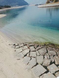 大きな水溜まりの写真・画像素材[3339548]