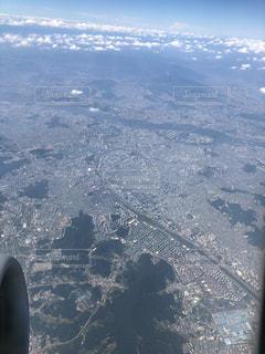 飛行機からの景色の写真・画像素材[3339905]