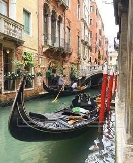ヴェネツィアの裏路地の写真・画像素材[3347328]