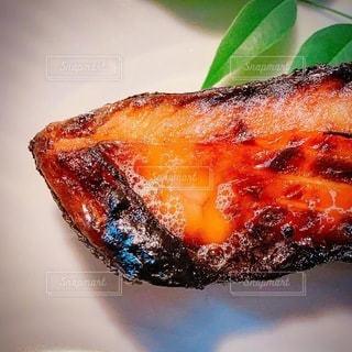 シャケの塩麹焼きの写真・画像素材[3432784]