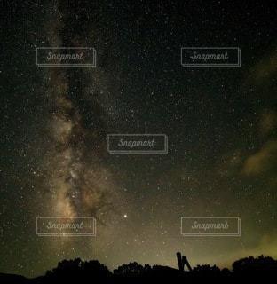 天の川の写真・画像素材[3392440]