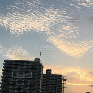 #うろこ雲の写真・画像素材[213759]