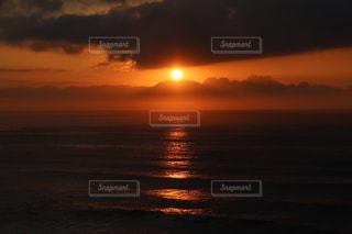 夕日の写真・画像素材[3348523]