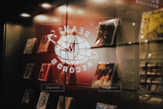 クローズ アップ図書の棚のの写真・画像素材[733470]