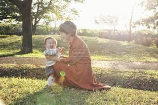 親子の写真・画像素材[3373677]