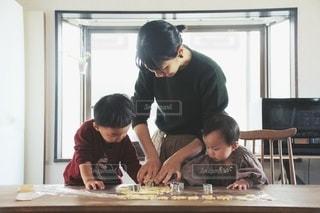 クッキー作りの写真・画像素材[3384213]