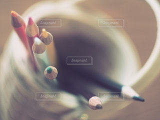 色鉛筆の写真・画像素材[3356741]