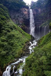 華厳の滝の写真・画像素材[3561589]