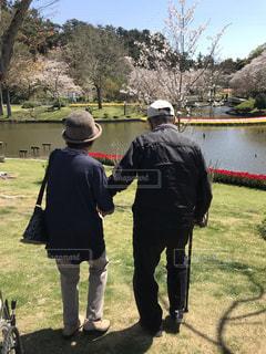 老夫婦の写真・画像素材[3365396]
