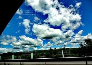 青空と雲の写真・画像素材[3371932]
