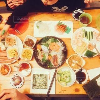 みんな大好き手巻き寿司の写真・画像素材[3361255]