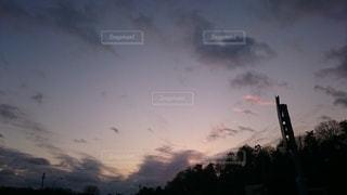 空の雲の群の写真・画像素材[3387250]
