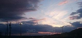 空の雲の写真・画像素材[3387254]