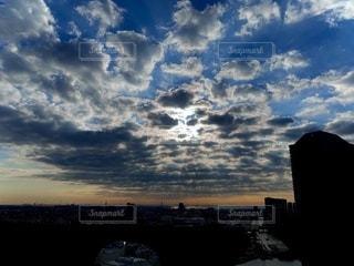 空と雲と光の写真・画像素材[3366031]