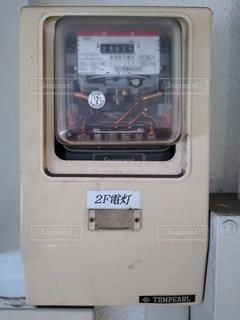 電気メーターの写真・画像素材[3368363]