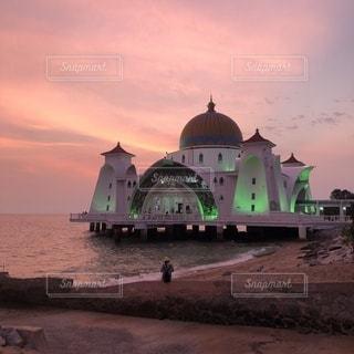 マラッカ モスクの写真・画像素材[3373077]