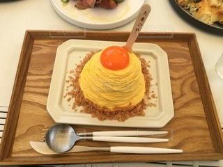 たまご屋さんのパンケーキの写真・画像素材[3375035]