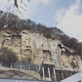 岩崖の写真・画像素材[3570276]