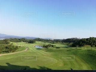 すごい景色のゴルフ場!の写真・画像素材[3375447]
