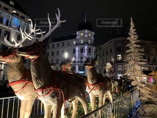 コペンハーゲンのクリスマスマーケットの写真・画像素材[3378384]