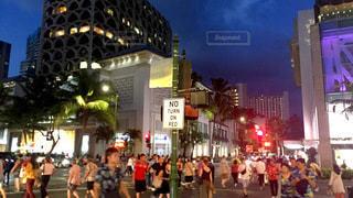 夜の街の写真・画像素材[3385546]