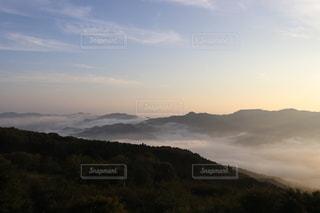秩父の雲海の写真・画像素材[3381308]