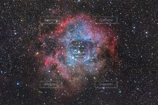 星に満ちた空の写真・画像素材[3382842]
