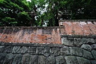 レンガの壁の写真・画像素材[3409160]