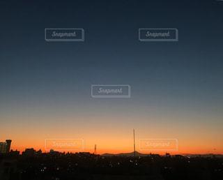 夕暮れの写真・画像素材[1091700]