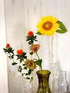 花のある暮らしの写真・画像素材[3393368]