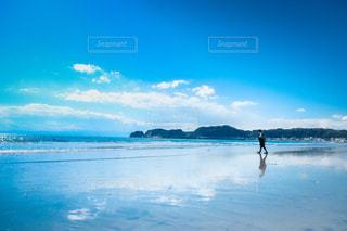 海と私の写真・画像素材[3398061]