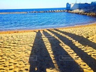 海と影の写真・画像素材[3419449]