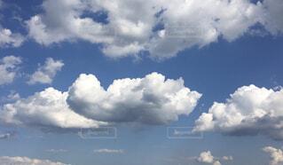 空の雲の群の写真・画像素材[4329855]