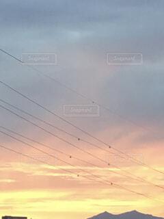 空の雲の群の写真・画像素材[4339718]