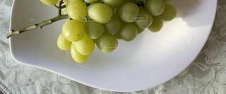 皿の上に果物のボウルの写真・画像素材[4875793]