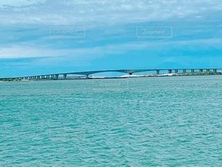 浜名湖の浜名大橋の写真・画像素材[3472640]
