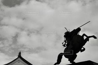 モノノフ〜ブラック&ホワイトの写真・画像素材[3455517]