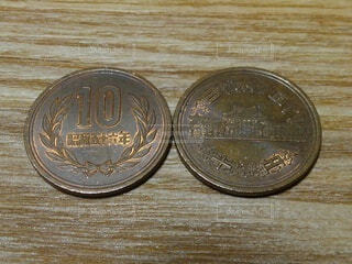 硬貨の写真・画像素材[4773533]
