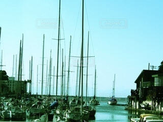 漁港の写真・画像素材[4159535]