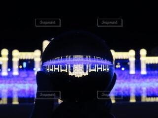 クリスタルボールの中に宮殿の写真・画像素材[3999783]