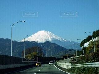 富士山に向かって突き進めの写真・画像素材[3951788]