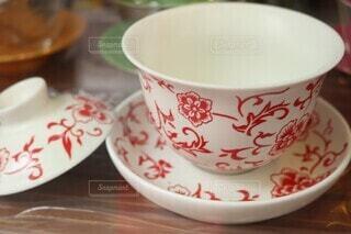 素敵な茶器の写真・画像素材[4051811]