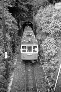 昔の江ノ電の写真・画像素材[4123238]